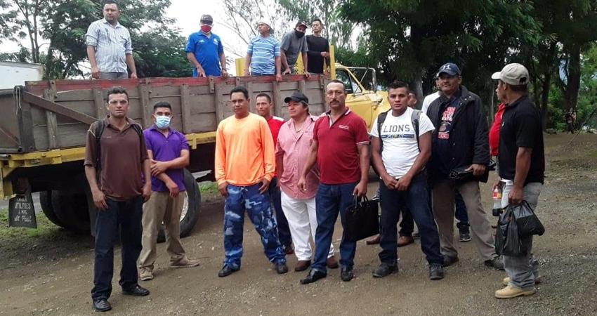Representantes de empresa se comprometieron a pagar las liquidaciones a unos 41 extrabajadores del alcantarillado sanitario en Condega, Estelí.
