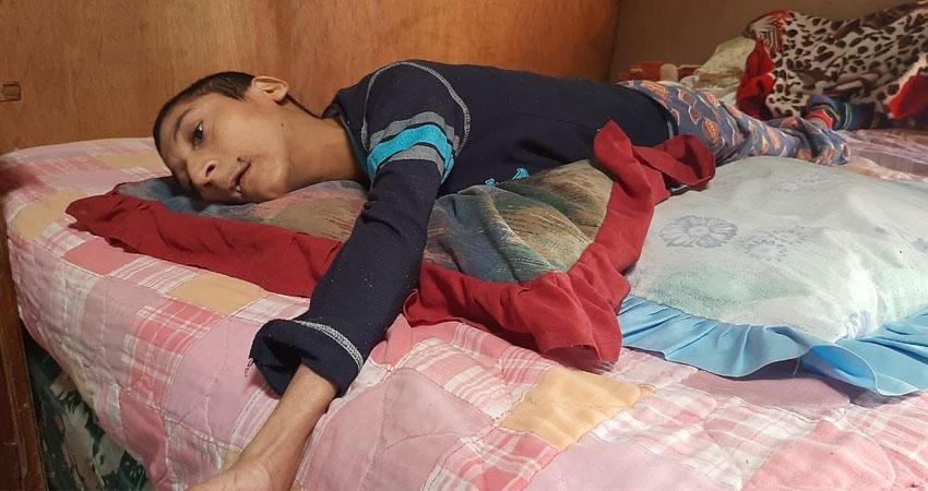 Marlon José sufrió parálisis cerebral. Foto: Famnuel Úbeda/Radio ABC Stereo