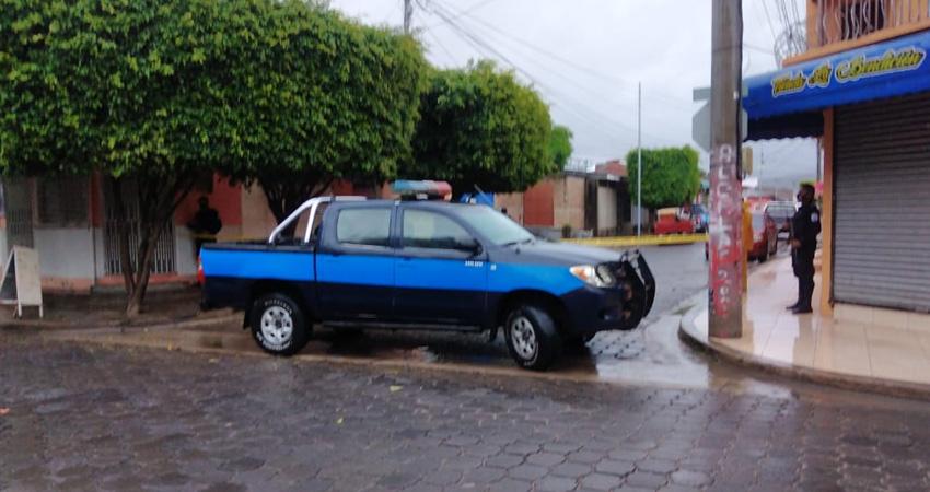 Además del cambista, otra persona resultó lesionada. Foto: Juan Fco. Dávila/Radio ABC Stereo