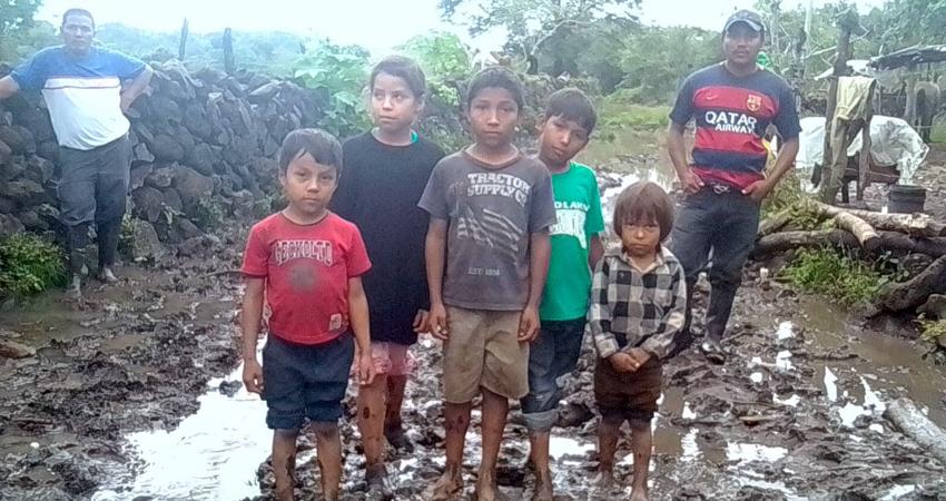 En la comunidad habitan familia en precarias condiciones. Foto: Cortesía/Radio ABC Stereo