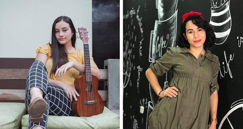 Ana Gutiérrez Joya y María José Midence son las jóvenes que impulsan la colecta. Fotos: Cortesía/Radio ABC Stereo