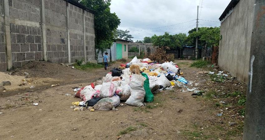 Cuando el camión no pasa la basura se acumula. Foto: Roberto Mora/Radio ABC Stereo