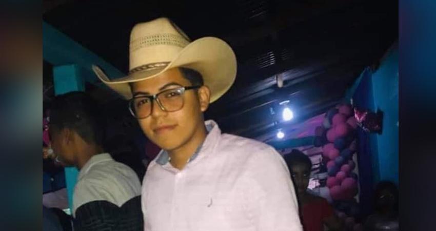 Andy Danilo Talavera, que en paz descanse. Foto: Cortesía