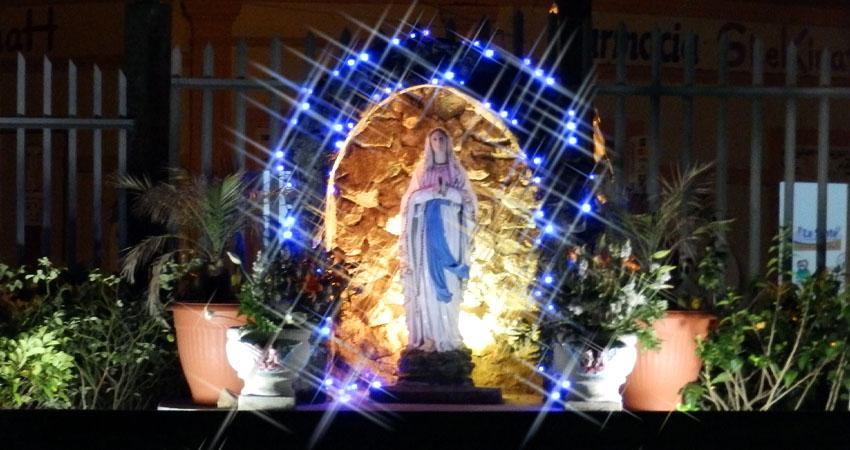 ¿Quién causa tanta alegría? Siempre se hará la celebración a la Virgen de la Inmaculada Concepción. Parroquias de Estelí inician los preparativos para la novena que comienza este domingo.