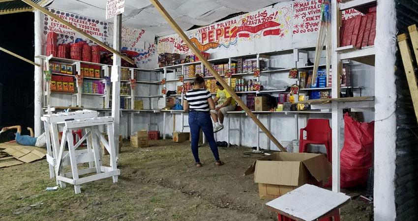 Debido a las afectaciones en los talleres de pólvora de Honduras y El Salvador, la pólvora roja estará más cara este año en Estelí.